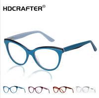 Unisex Fashion Cat's Eye Acetate Frame Optical Glasses Myopia Eyeglasse Frame