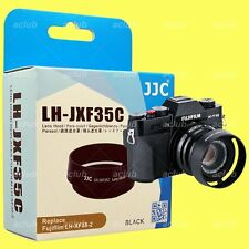 JJC LH-JXF35C Metal Lens Hood for Fujifilm XF 23mm 35mm F2 R WR - Black
