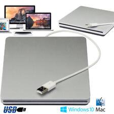 USB3.0 New Super Speed External DVD CD RW ROM Drive Burner Writer Win7/8/10 Mac