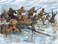 Russian Infantry Winter Uniform Plastic Kit 1:72 Model ITALERI