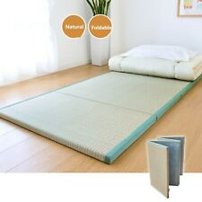 Folding Japanese Traditional Tatami Mattress Mat Rectangle Large Foldable Floor