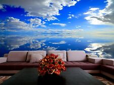 Sky View  Photo Wallpaper Wall Mural DECOR Paper Poster Free Paste