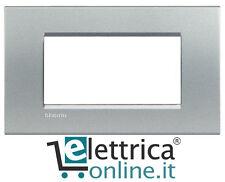 Bticino Living Light placca LNA4804TE 4P (4 posti - moduli) tech