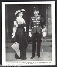 ADEL, 1916, Kaiser Carl von Österreich, Kaiserin Zita von Bourbon Parma (81)
