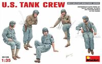 Miniart 35126 American tank crew figures Scale Plastic Model Kit 1/35