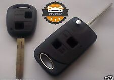 Toyota Corolla Celica Rav 4 Yaris 2 Button Remote Conversion Flip Key Fob Case