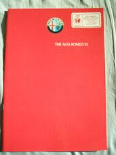 Alfa Romeo 33 range brochure 1986