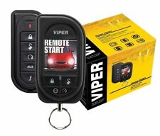 Viper 5906V Car Remote Start & Alarm 1 Mile Range Color OLED 2-Way Remote *New