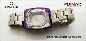 Box/Case Original OMEGA, 566.0075, Bracelet, Diameter Box 25.80X31.07