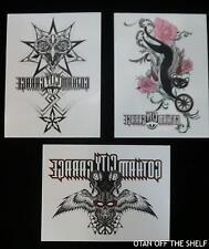 SDCC Comic Con 2017 Gotham City Garage temporary Tattoos Set of 3