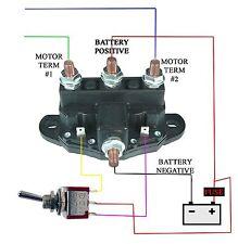 TWO ATV/UTV RELAY WINCH MOTOR REVERSING SOLENOID  SWITCH NEW 12 VOLT
