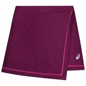 Asics Women's Tennis Skort Sports Club Styled Skort - Plum - New