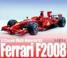 Model Factory Hiro 1/12 Multimedia Kit Ferrari F2008 Ver.A: European/Japanese GP