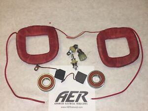John Deere 4010, 4020 Delco 1103026 24 Volt Generator Kit Field Coils Brushes