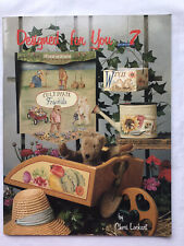 Designed For You 7 By Cheri Lockart Folk Art/decorative Painting Book