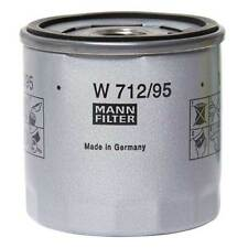 VW UP Polo Golf Skoda Octavia Seat Leon Audi A3 Mann Oil Filter Spin-On Type