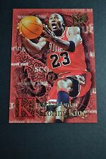 Michael Jordan Chicago Bulls 1996-97 Fleer Ultra Scoring Kings