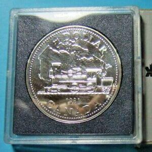 1981 Canada Silver Dollar - Prooflike, UNC