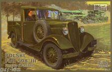 Véhicule Polonais FIAT POLSKI 508/III Fourgonette - KIT IBG Models 1/72 n° 72009