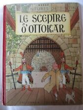 TINTIN Le sceptre d'Ottokar EO Edition originale