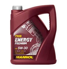 Mannol Premium 10 L 5W-30 Fully Synthetic Car Engine Oil Low Saps C3 GM DEXOS 2