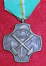 XM60 Belgium Civil medal, Christian trade Unions, 3rd class bronze