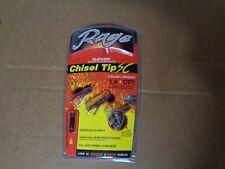"Rage 3 Blade Chisel Tip Sc Broadheads 1.6"" Cut-3 Pack 60100 100 Grain"