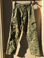 Unisex Army Combat Pants Cargo Fatigue Digi Camouflage Size X-Small Camo