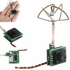 Micro FPV 5.8G Transmitter + Camera 600TVL 1/3 Cmos 25mW 48 Channel with Antenna