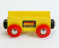 Vintage 1990s Authentic BRIO Train Car Beechwood Made in Sweden