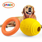 Dog Chew Toys for Puppy Aggressive Chewers Large Breed Non-Toxic Natural Rubber