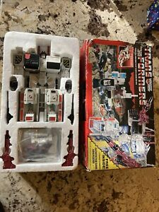 Autobot Metroplex Transformers G1 Vintage with Box 100% Complete Rare Htf Lot