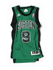 Youth Boy Boston Celtics Rajon Rondo #9 Basketball Jersey Size S/8