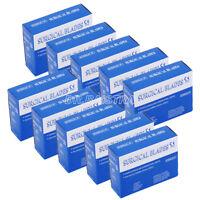 UK Dental Surgical 10# 11# 15# Scalpel Blades Scalpels Huge Saving 100pc/Box