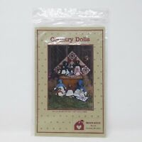 Erica's Quilts Country Amish Style Dolls & Quilt Country Primitive Pattern