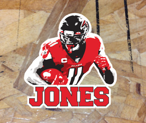 Julio Jones #11 Atlanta Falcons Fan Sticker Decal Football WR Player Parody