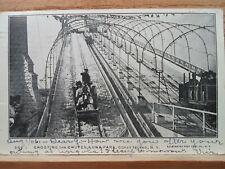 Luna Park, Coney Island NY New York, The Chutes ,early postcard  1906