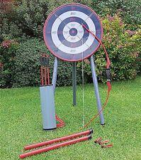 Esterno Giardino ARCHERY Set Bow & Arrow colpo tubo e freccette KIT BAMBINI GIOCATTOLO GIOCO