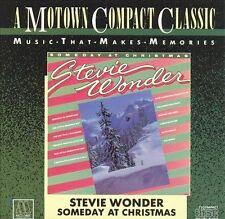 CD - STEVIE WONDER - Someday at Christmas - Very Good