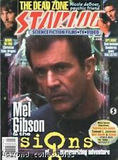 STARLOG #302 - SIGNS - DEAD ZONE - SPIDERMAN - ROSWELL - THE DRAGON SLAYER