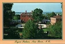 Tryon Palace, New Bern, North Carolina, Trent River, Colonial America - Postcard