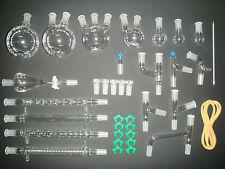 NEW Advanced Organic Chemistry Lab Glassware Kit 24/40,TOP Series