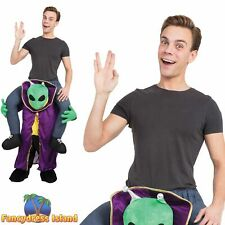 Alien Piggyback Fun Novelty Stag Do Party Halloween Adult Fancy Dress Costume