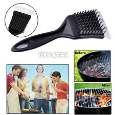 Stainless Steel BBQ Grill Cleaning Cooking Tool Brush Outdoor Cleaner Barbecue