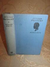 Antique Collectable Book Of Julian Probert, By Susan Ertz - 1933