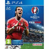 Pro Evolution Soccer 2016 (Sony PlayStation 4, 2016) UK Import Brand NEw