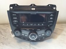 03 04 05 06 07 HONDA ACCORD COUPE AM/FM RADIO 6-CD PLAYER 39175-SDN-L11 7BY1 OEM