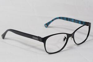 NEW COACH HC 5039 Ashlyn 9077 Satin Black Eyeglasses Authentic 53[]16-135 #664