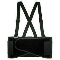 Belt Heavy Lift Back Support Waist Brace Adjustable suspenders Size