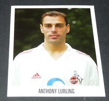 293 ANTHONY LURLING 1.FC KÖLN PANINI FUSSBALL 2005-2006 BUNDESLIGA FOOTBALL